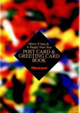 メリークリスマス&ハッピーニューイヤー ポストカード&グリーティングカードブック
