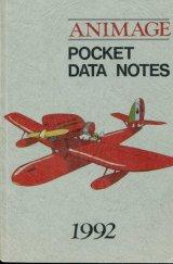 1992アニメージュポケットデータノート