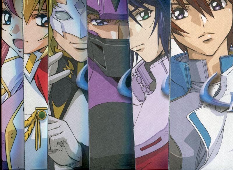 画像1: 機動戦士ガンダムSEED原画集 SEE-Dash 1〜6 (全6冊セット)  えかきや本舗