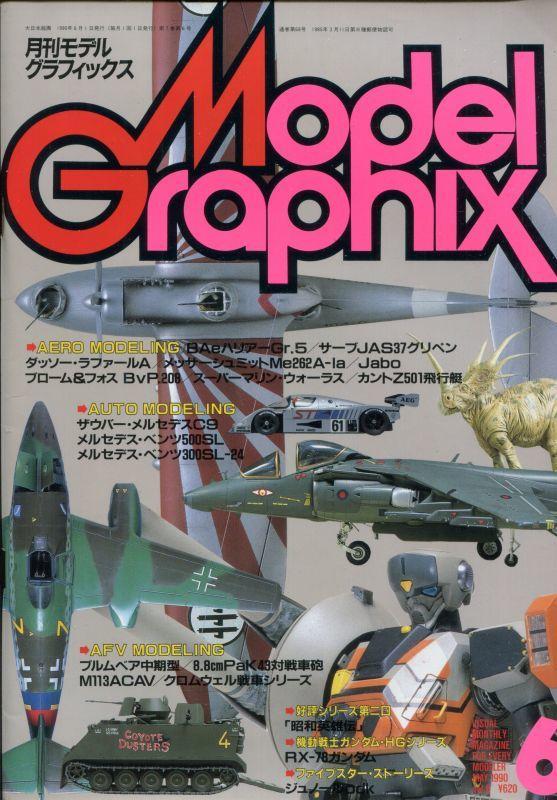 画像1: 月刊モデルグラフィックス 1990年6月号