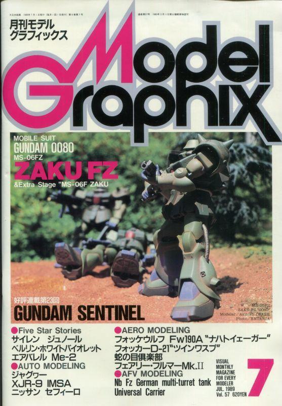画像1: 月刊モデルグラフィックス 1989年7月号
