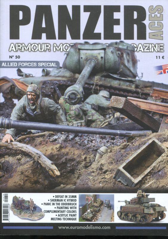 画像1: パンツァーエーセス 第50号 連合軍車輌特集  ARMOUR MODELLING MAGAZINE