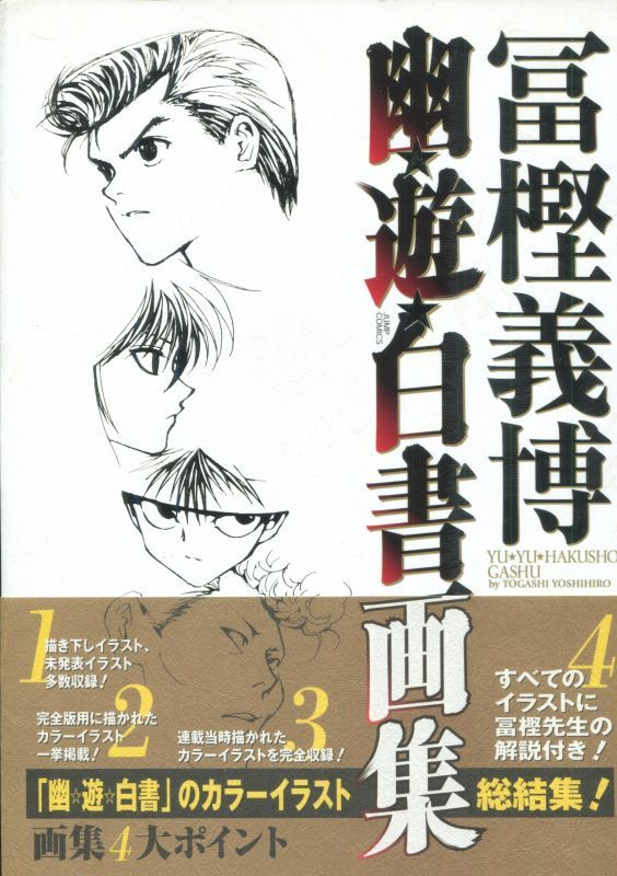 画像1: 幽遊白書画集 冨樫義博
