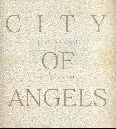 画像1: CITY OF ANGELS (シティオブエンジェル)  パンフレット