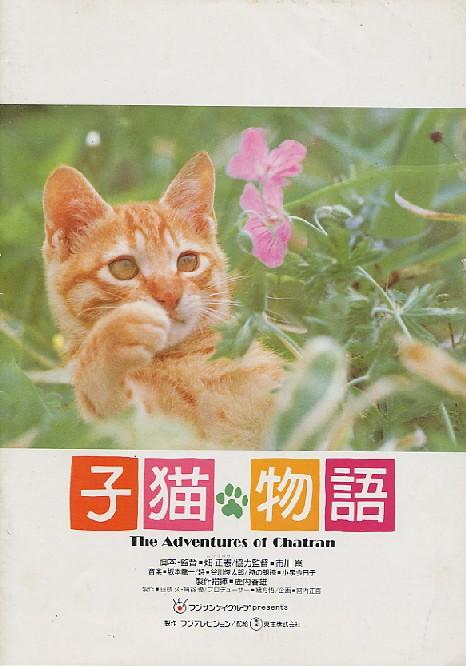 画像1: 子猫物語  パンフレット
