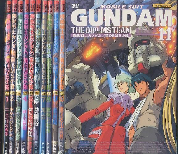 画像1: 機動戦士ガンダム/第08MS小隊 フィルムコミック 全11巻セット